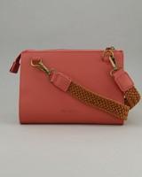 Women's Pia Cross-Body Bag -  coral