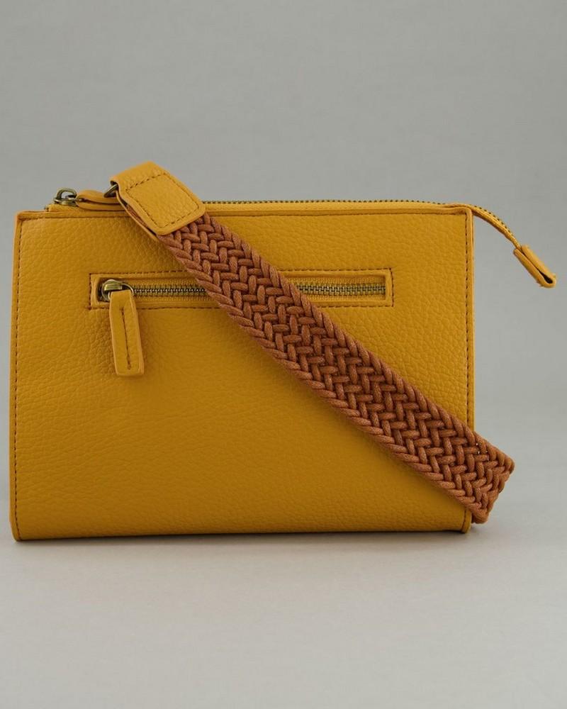 Women's Pia Cross-Body Bag -  yellow