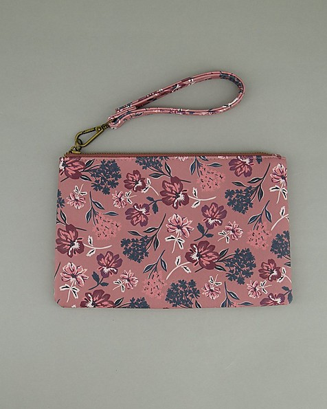 Women's Ayla Vegan Leather Pouch -  pink