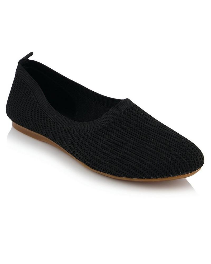 Old Khaki Emma Shoe Ladies -  black