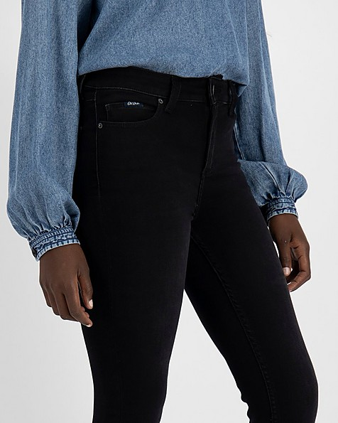 Women's Poppi Skinny Denim -  black