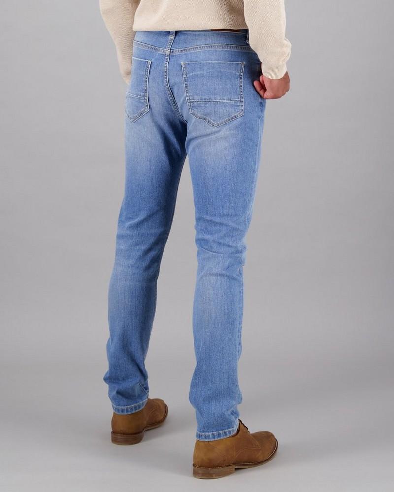 Men's Joel 44 Skinny Leg Denim -  midblue