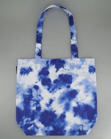 Women's Tie Dye Tote Bag -  blue