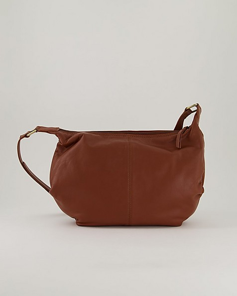 Women's Zanira Leather Bag -  brown
