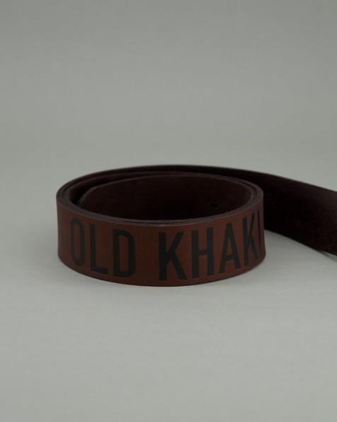 Men's Echo Branded Belt -  brown