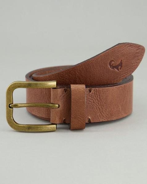 Men's Ranger Leather Belt -  brown
