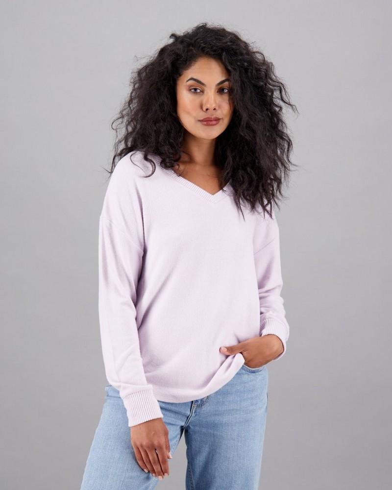 Women's Nim Long Sleeve T-Shirt -  lilac