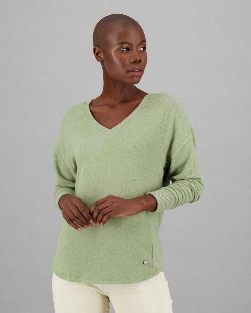 Women's Nim Long Sleeve T-Shirt -  green