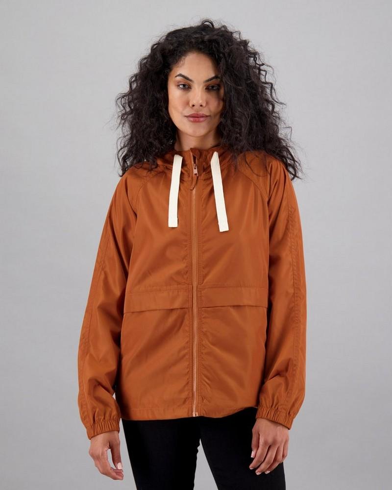 Women's Rayne Packable Parka -  rust