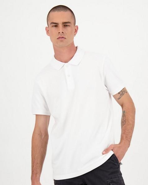 Men's Alex Standard Fit Golfer -  white