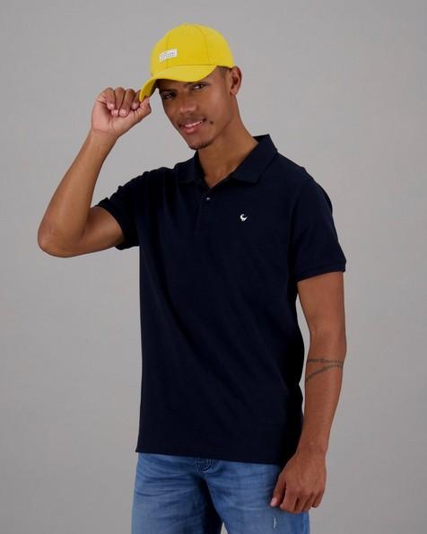 Men's Alex Standard Fit Golfer -  navy