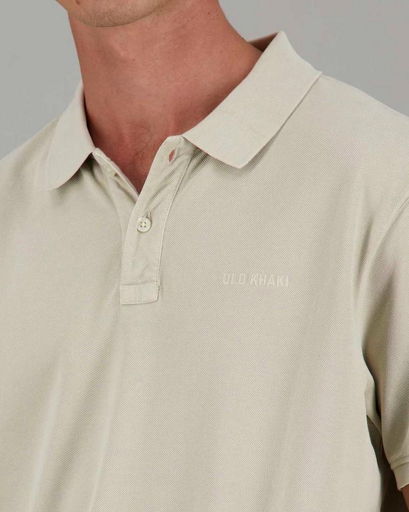 Men's Allan Standard Fit Golfer -  stone