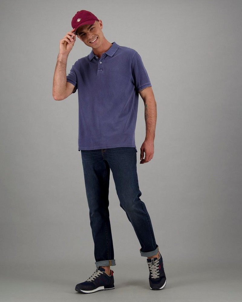 Men's Allan Standard Fit Golfer -  blue