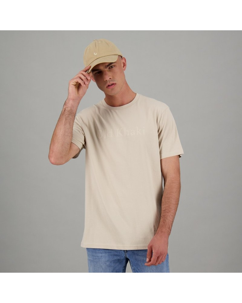 Men's Kason Relaxed Fit T-Shirt -  stone