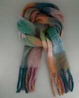 Women's Rhodes Checked Scarf -  assorted