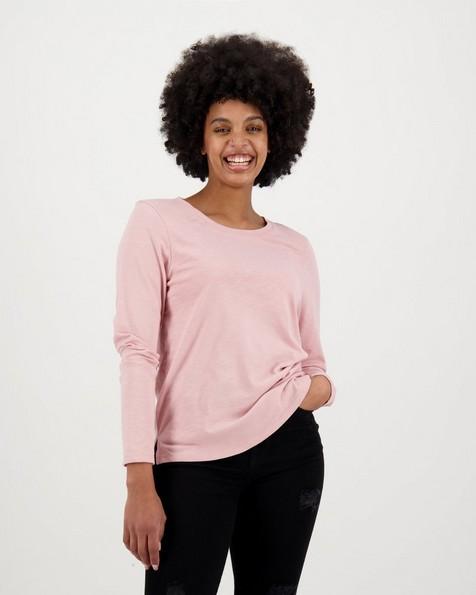 Women's Elise Long Sleeve T-Shirt -  dustypink