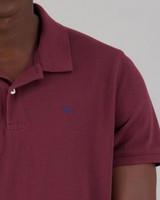 Men's Rex Standard Fit Golfer -  burgundy