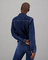 Women's Zandile Denim Jacket -  blue