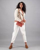 Women's Thabisa Leather Jacket -  bone