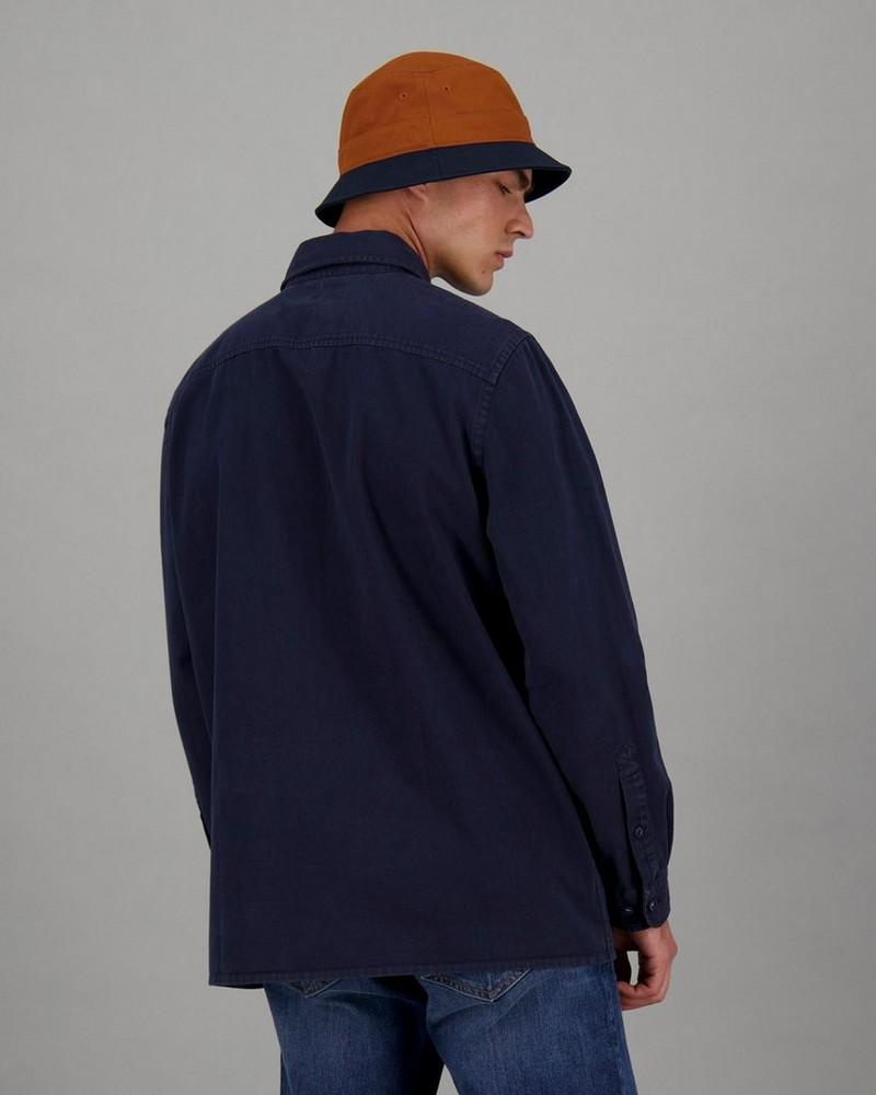 Men's Fonzo Regular Fit Shacket -  blue