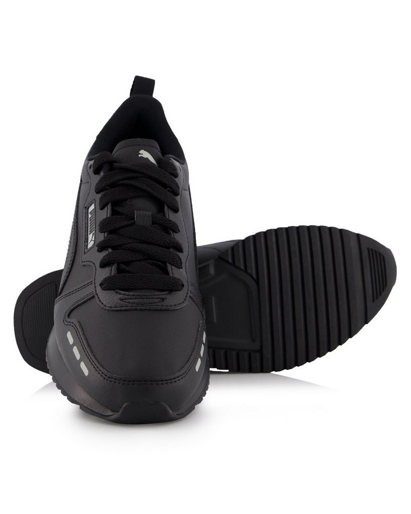 Men's Puma R78 Sneaker -  black