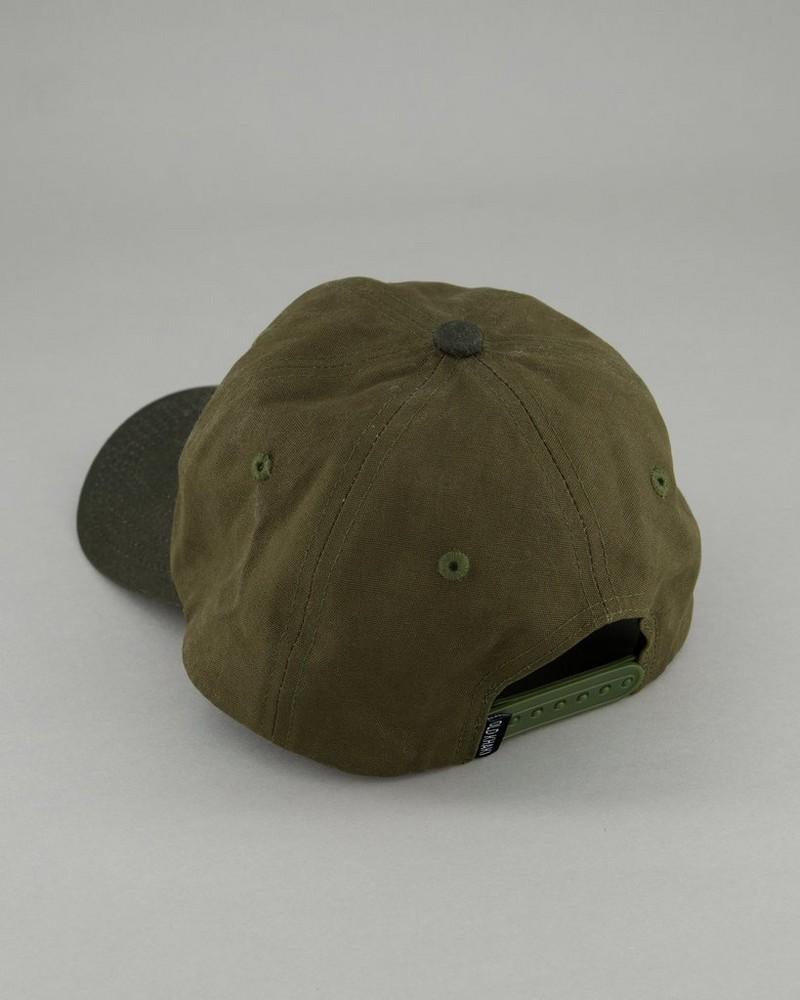 Men's Brexton Branded Cap -  olive