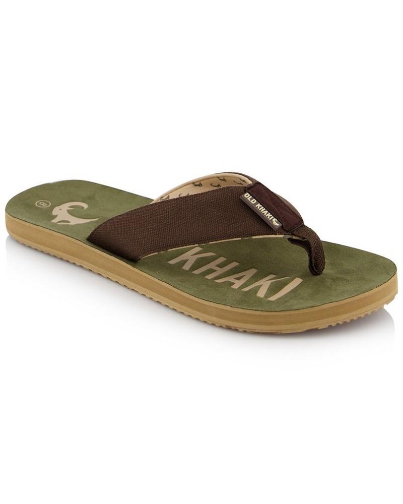 Men's Mitchel Flip Flop -  olive