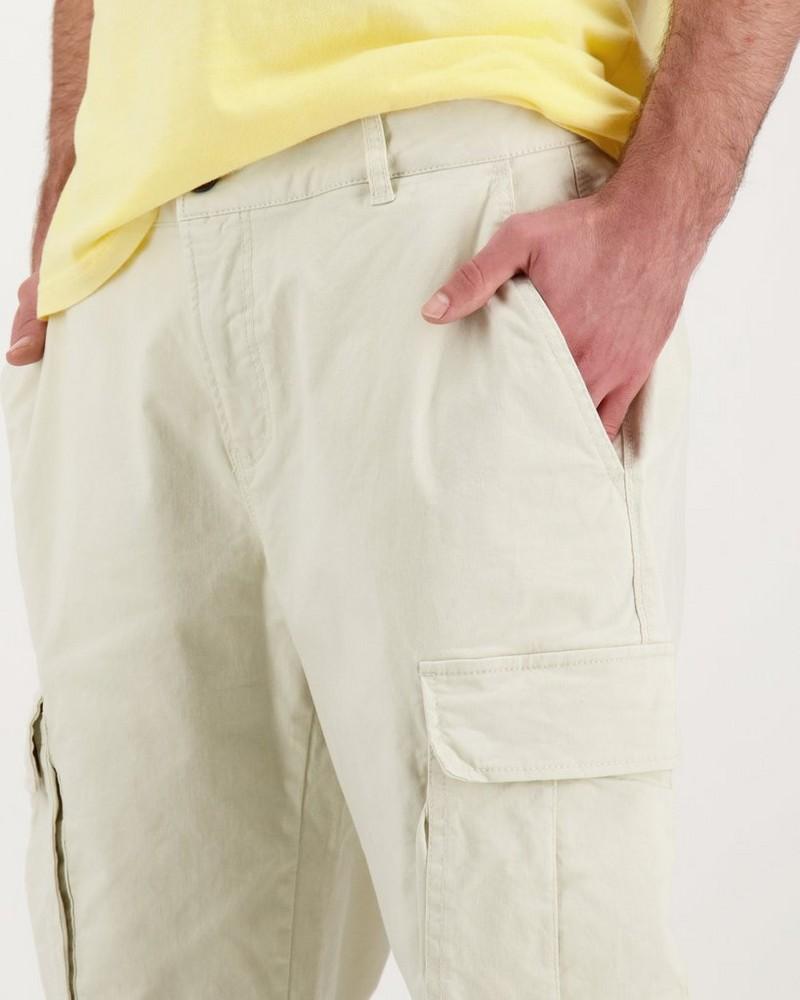Men's Johan Utility Pants -  bone