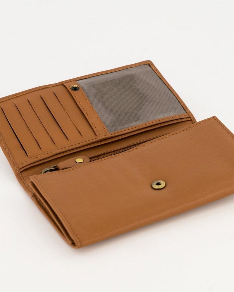 Women's Zintle Wallet -  tan