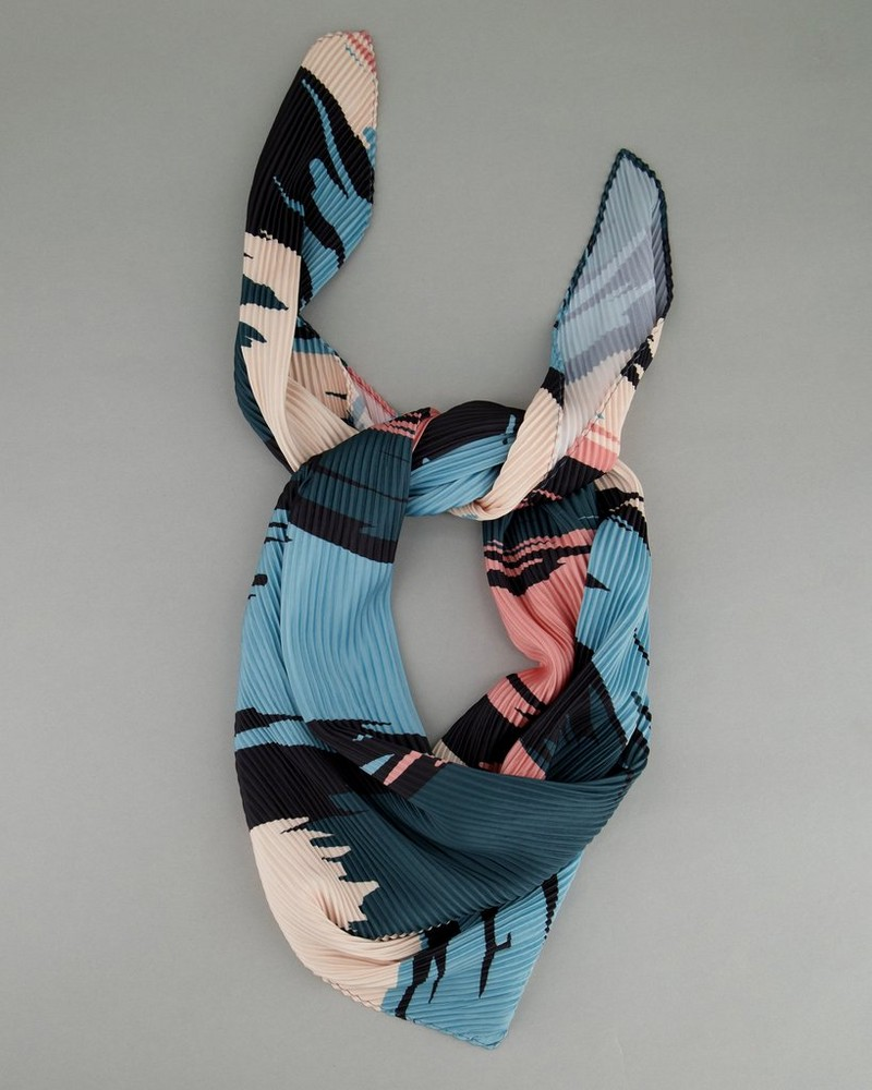 Women's Arwen Pleated Scarf -  assorted
