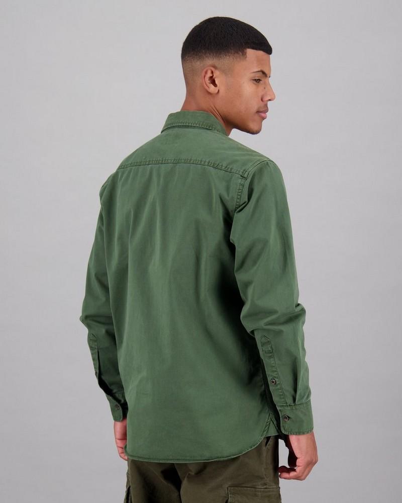 Men's Migual Shacket -  green