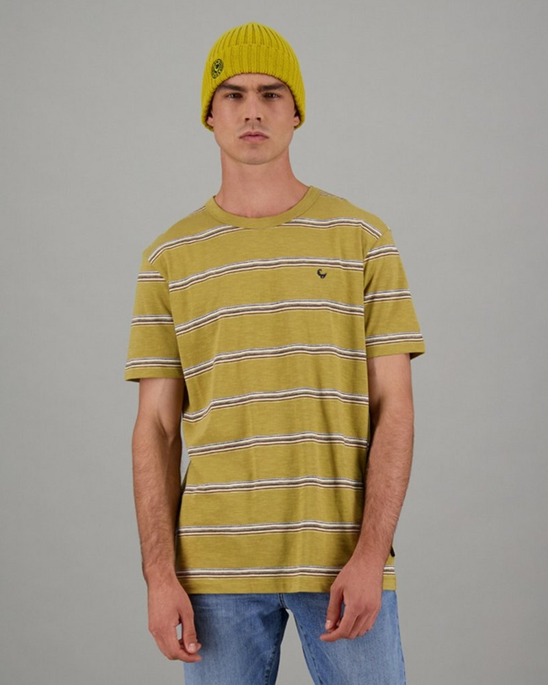 Men's Cole Relaxed Fit T-Shirt -  yellow