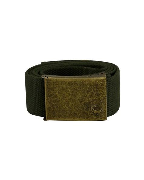 Men's Tag Canvas Belt -  olive