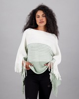 Women's Xola Poncho -  sage