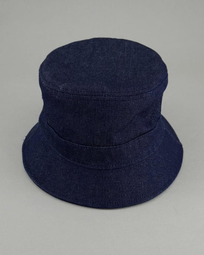 Men's Denim Bucket Hat -  navy