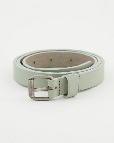 Women's Marni Skinny Belt -  grey