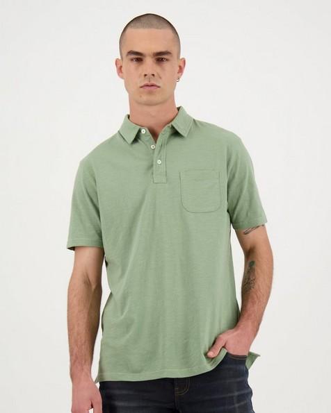 Men's Brett Standard Fit Golfer -  sage