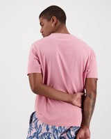 Men's Bandile Relaxed Fit T-Shirt -  pink
