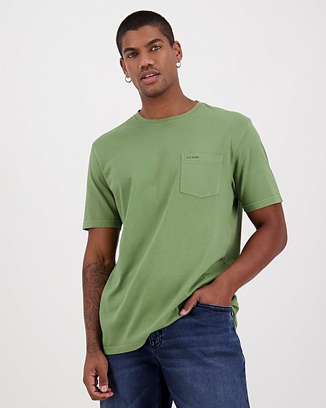 Men's Bandile Relaxed Fit T-Shirt -  green