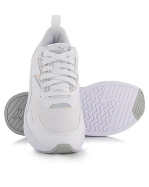 Women's Puma X-Ray Lite Metallic Sneaker -  white