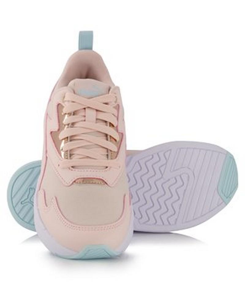 Women's Puma X-Ray Lite Metallic Sneaker -  lightpink