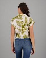 Women's Morgan Front-Tie Shirt -  assorted