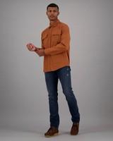 Men's Karl Regular Fit Shacket -  orange