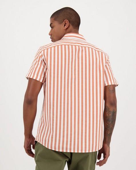Men's Chad Regular Fit Shirt -  orange