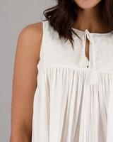 Women's Teresa Cami -  milk