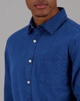 Men's Connor Slim Fit Denim Shirt -  indigo