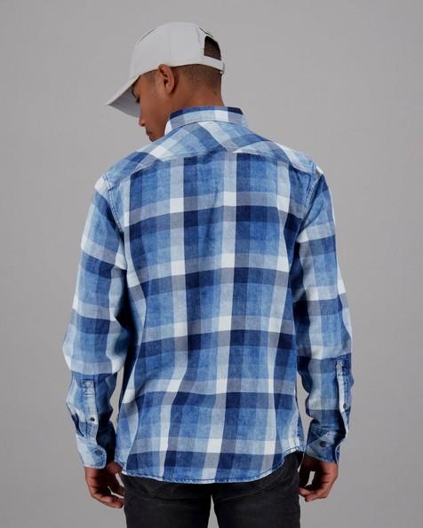 Men's Benson Regular Fit Shirt -  indigo