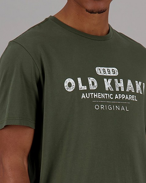 Men's Ben Relaxed Fit T-Shirt -  olive