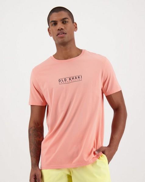Men's Claude Standard Fit T-Shirt -  salmon