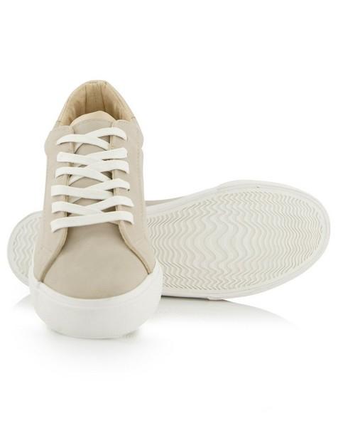 Women's Annie Sneaker -  taupe